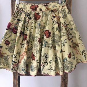 Miss Sixty Flared Skirt